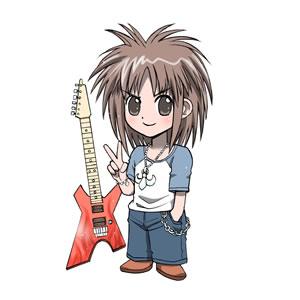ロゴ キャラクター 製作 サンプル ロック少年