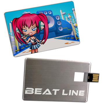 カード型USBメモリー