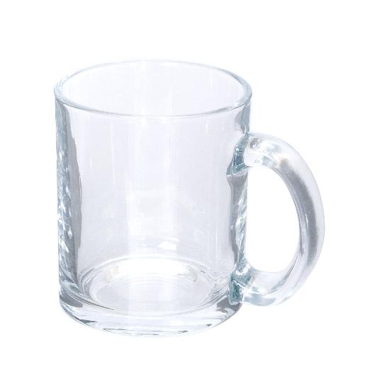 フルカラー対応マググラス クリア(300ml)