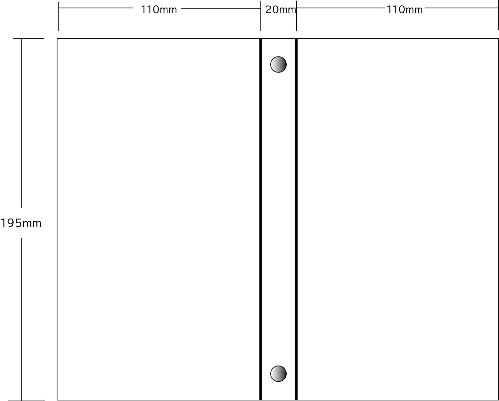 チェキファイル(PVC素材)